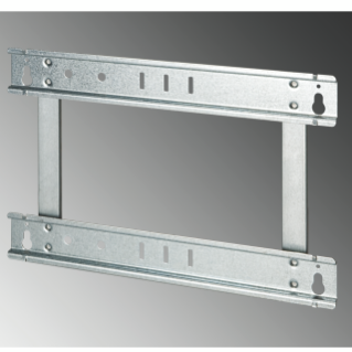 EXTRACTABLE FRAME FOR FLUSH-MOUNTING ENCLOSURE 24 MODULES