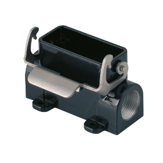SURFACE MOUNTING HOUSING FOR HARSH ENVIROMENTAL REQUIREMENTS - 66X16 - SINGLE LEVER - PG16,2 - 500V - METAL
