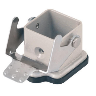 BULKHEAD MOUNTING HOUSING EMC - 21X21 - SINGLE LEVER - TOP ENTRY - 250V - METAL