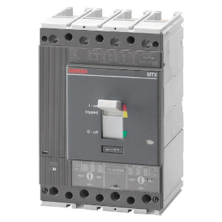 MTX 320 - MOULDED CASE CIRCUIT BREAKER - TIPO N - 36KA 4P 160A TM2 RELEASE IM=5-10In