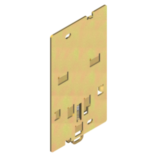 BRACKET FOR FIXING ON DIN PROFILE - FOR MTX/E/M 160c - DIN EN 50022