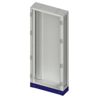 FLOOR MOUNTING DISTRIBUTION BOARD STRUCTURE - CVX 630M - 600X2000X280 - GREY RAL7035