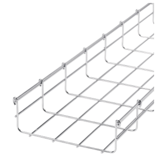 GALVANIZED WIRE MESH CABLE TRAY  BFR60 - LENGTH 3 METERS - WIDTH 200MM - FINISHING: HDG