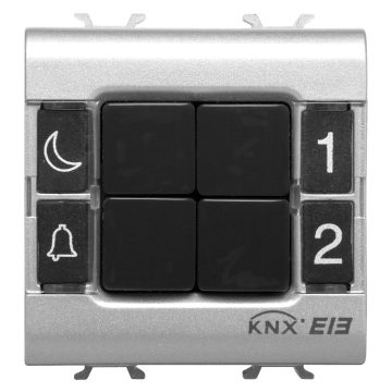 Easy 4-channel push-button panels