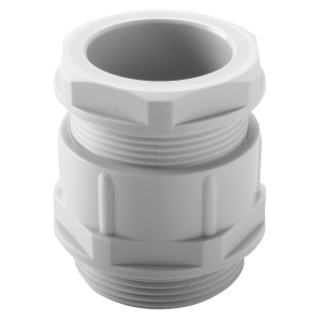NYLON CABLE GLAND - PG13.5 PITCH - GREY RAL 7035 - IP54