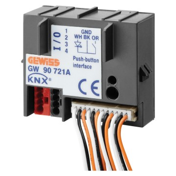 KNX 2- and 4-channel contacts interfaces