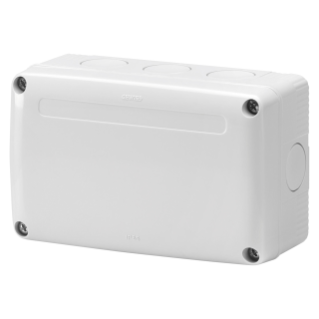 JUNCTION BOX FOR COMBINED ASSEMBLY OF MODULAR CONTAINERS - GREY RAL7035 - IP55