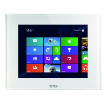 MASTER ICE indoor touch monitors - Video entryphone function + KNX command and visualisation