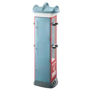 QMC63C - FIRE-PREVENTION PRE-ARRANGED FOR HOUSING LANCE AND HOSE  - LIGHT BLUE