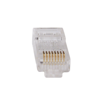 PLUGS RJ45 - CAEGORIA 5e FTP - FOR ROUND CABLE