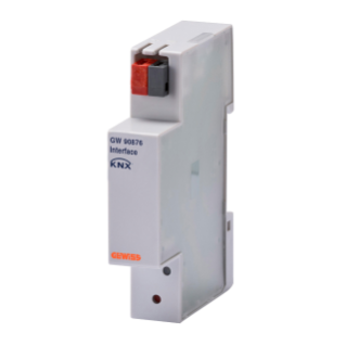 KNX INTERFACE FOR ENERGY METER - IP20 - 1 MODULE- DIN RAIL MOUNTING