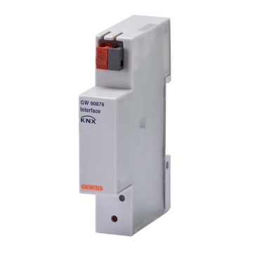KNX interface for traditional energy meter - IP20 - Din rail mounting