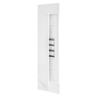 DOMO CENTER - FRONT KIT - METAL DOOR - 2 ENCLOSURES 40 MODULES - H.2700 - METAL - WHITE RAL 9003