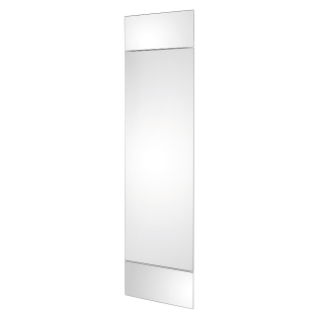 DOMO CENTER - DOOR AND 2 PANELS - MIRROR FINISH - H.1800