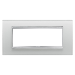 PLAQUE LUX RECTANGULAIRE - EN VERRE - 6 MODULES - GLACE - CHORUS