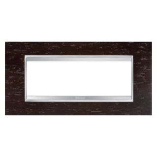PLACCA LUX - IN LEGNO - 6 POSTI - WENGEE - CHORUS