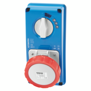 IB Range Interlocked socket-outlets IEC 309 standards