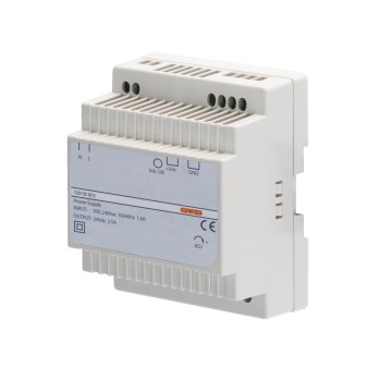 Power supply - din rail mounting