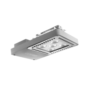 SMART [4] 2.0 LB - 5 LED - DIFFUSED 100° - STAND ALONE - 4000 K (CRI 80) - 220/240 V 50/60 Hz - IP66 - CLAS I - GREY RAL 7037