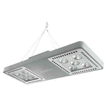 SMART [4] 2.1 HLO - 5+5 LED - RESTRICTED 30° - STAND ALONE - 4000 K (CRI 80) - 220/240 V 50/60 Hz - IP66 - CLAS I - GREY RAL 7037
