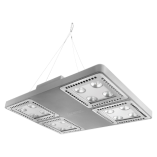 SMART [4] 2.1 HLO - 4X4 LED - EXTENSIVA 100° - INDEPENDIENTE - 4000 K (CRI 80) - 220/240 V 50/60 Hz - IP66 - CLASE I - GRIS RAL 7037