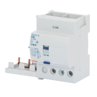 ADD ON RESIDUAL CURRENT CIRCUIT BREAKER FOR MT CIRCUIT BREAKER - 3P 63A TYPE AC INSTANTANEOUS Idn=0,03A - 3,5 MODULES