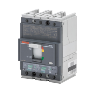 MTXE 160 - MOULDED CASE CIRCUIT BREAKER WITH ELECTRONIC RELEASE - TYPE S - 50kA 3P 160A - SEP/1 MICROPROCESSOR FUNCTION I