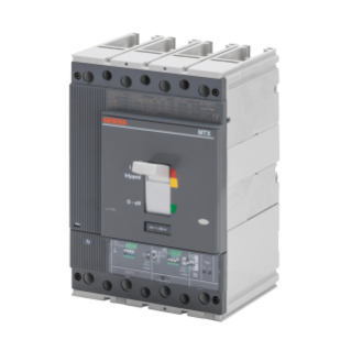 MTXE 320 - MOULDED CASE CIRCUIT BREAKER WITH ELECTRONIC RELEASE - TYPE L - 120KA 4P 320A - SEP/1 MICROPROCESSOR FUNCTION LS/I
