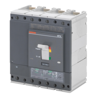 MTXE 630 - MOULDED CASE CIRCUIT BREAKER WITH ELECTRONIC RELEASE - TYPE H - 70KA 4P 630A - SEP/2 MICROPROCESSOR FUNCTION LSIG