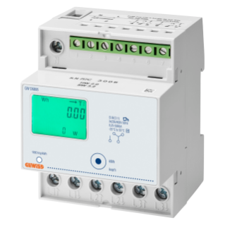 COMPTEUR D'ÉNERGIE - TRIPHASE DIGITAL - IP20 - DIRECTE 80 A - 4 MODULES