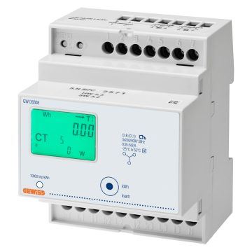 Three-phase digital energy meters