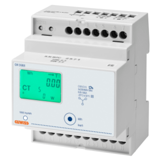 ENERGY METER - THREE PHASE DIGITAL -MID -  IP20 - USING TA/5A - 4 MODULES