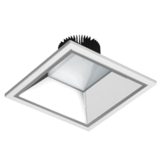 ASTRID SQUARE - LED-DOWNLIGHT - 200X200 MM - INDEPENDIENTE - 19W - 3000K (CRI 80) - 220/240V 50/60HZ - IP20 (IP40 VANO ÓPTICO) - CLASE II - BLANCO