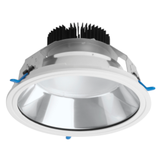ASTRID ROUND - LED - ENCASTRÉ-DIAMÈTRE 250 MM - AUTONOME - 33W - 4000K (CRI 80) - 220/240V-50/60HZ-IP20 (IP40 COMPARTIMENT OPTIQUE) - CLASSE II-BLANC