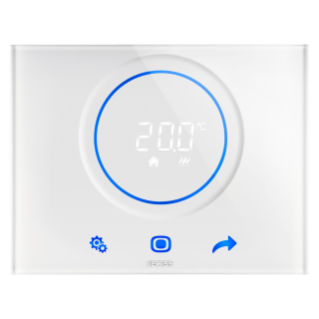 KNX/EASY THERMO ICE THERMOSTAT- FLUSH MOUNTING - WHITE - CHORUS