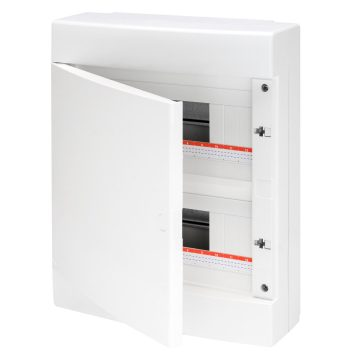 Enclosures equipped with 80A IP20 bipolar screw terminal blocks - white ral 9016
