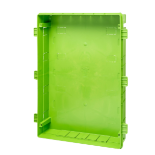 BACK BOX FOR FLUSH MOUNT. ENC. 36M GREEN