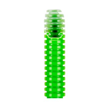 Medium green pliable conduit - PVC