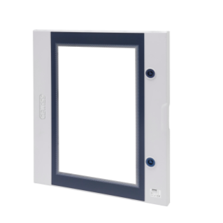 QP TRANSPARENT DOOR FITTED WITH LOCK - 515X650