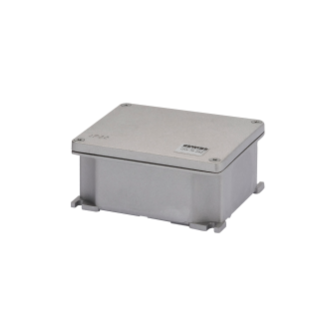 JUNCTION BOX IN DIE-CAST ALUMINIUM - UNPAINTED - 128X103X57 - IP66