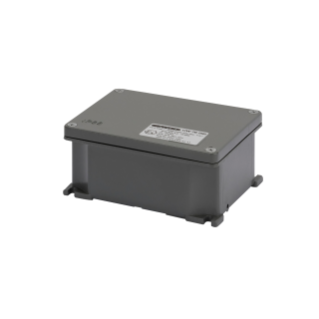 JUNCTION BOX IN DIE-CAST ALUMINIUM - PAINTED GREY RAL 7037 - 178X156X75