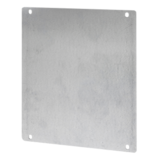 STEEL BACK-MOUNTING PLATE - FOR BOARDS 250X300