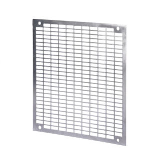 PERFORATED BACK-MOUNTING PLATE - IN GALVANISED STEEL - FOR BOARDS 405X650