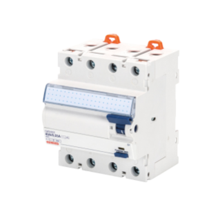 RESIDUAL CURRENT CIRCUIT BREAKER - IDP NA - 4P 40A TYPE AC ISTANTANEOUS Idn=0,3A 400V - 4 MODULES