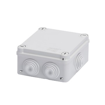 44 CE Range<br />Technopolymer surface mounting watertight junction boxes