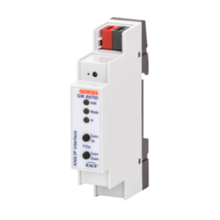 KNX/IP INTERFACE - IP20 - 1 MODULE - DIN RAIL MOUNTING