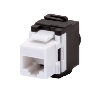 RJ45 SOCKET - UNSHIELDED - 6a CATEGORY - UTP