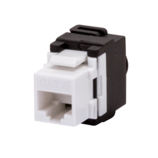 RJ45 SOCKET - UNSHIELDED - 6 CATEGORY - UTP