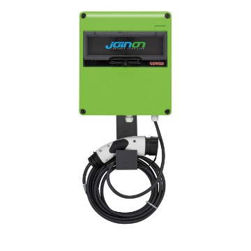 JOINON EASY HOME - slow surface-mounting charging station with mobile connector + cable IP54 - mode 3 in AC