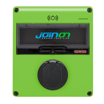 JOINON EASY PARKING – SLOW SURFACE MOUNTING CHARGING STATION - MODE 3 IN ALTERNATING CURRENT – TYPE 2 – 7,4 kW – IP54